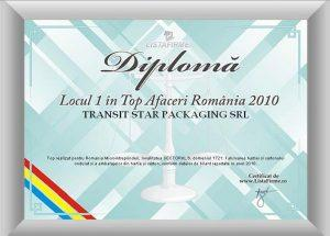 Diploma Transit Star Packaging